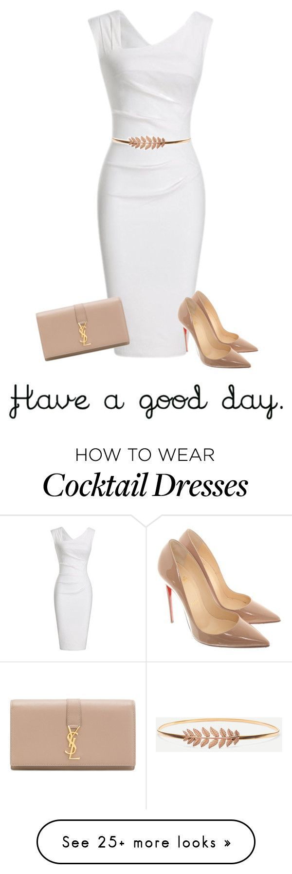 """Beautiful morning "" by g57xv on Polyvore featuring Christian Louboutin and Yves Saint Laurent"