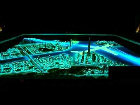 Mô hình Sa Bàn Hóa Bất Động Sản - Media Sand Table - YouTube