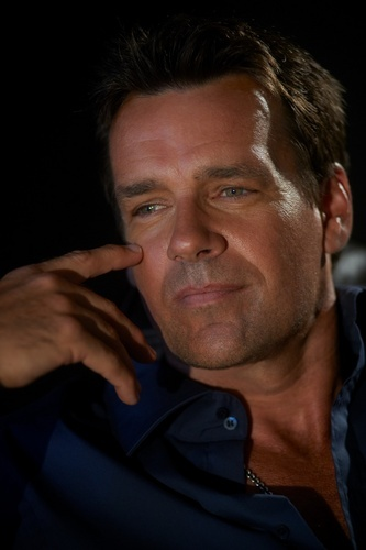 David James Elliott Greatly enjoyed him in the T.V. show JAG.  I think this is a striking picture of him.