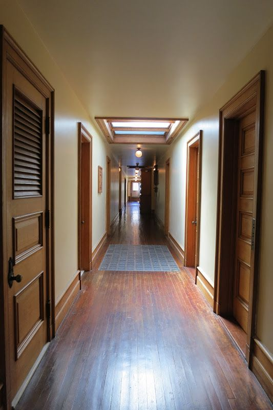 The Elms This Neat Corridor Bisects The Servants Quarters