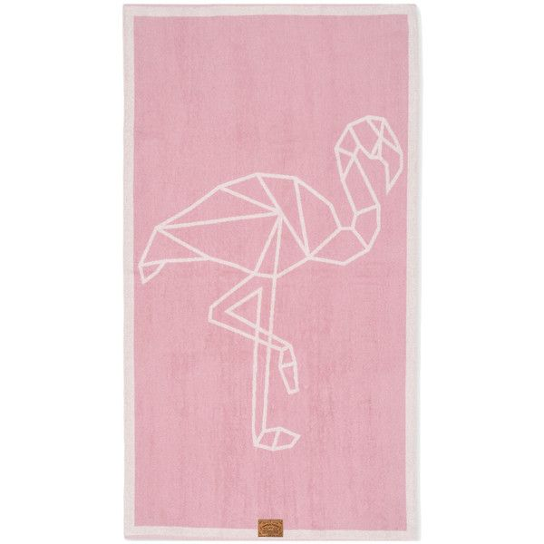 Flamingo Yoga Beach Towel (125 ILS) ❤ liked on Polyvore featuring home, bed & bath, bath, beach towels, pink, pink flamingo beach towel, flamingo beach towel and pink beach towel