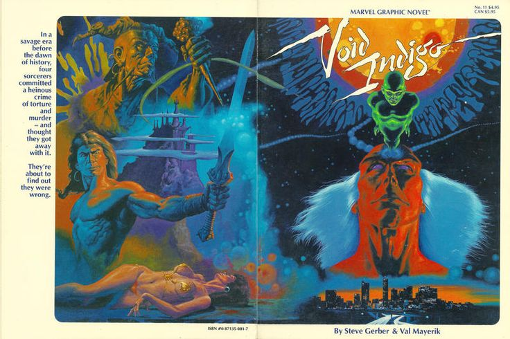 Cover for Marvel Graphic Novel (Marvel, 1982 series) #11 - Void Indigo