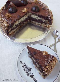 Постный овсяный торт