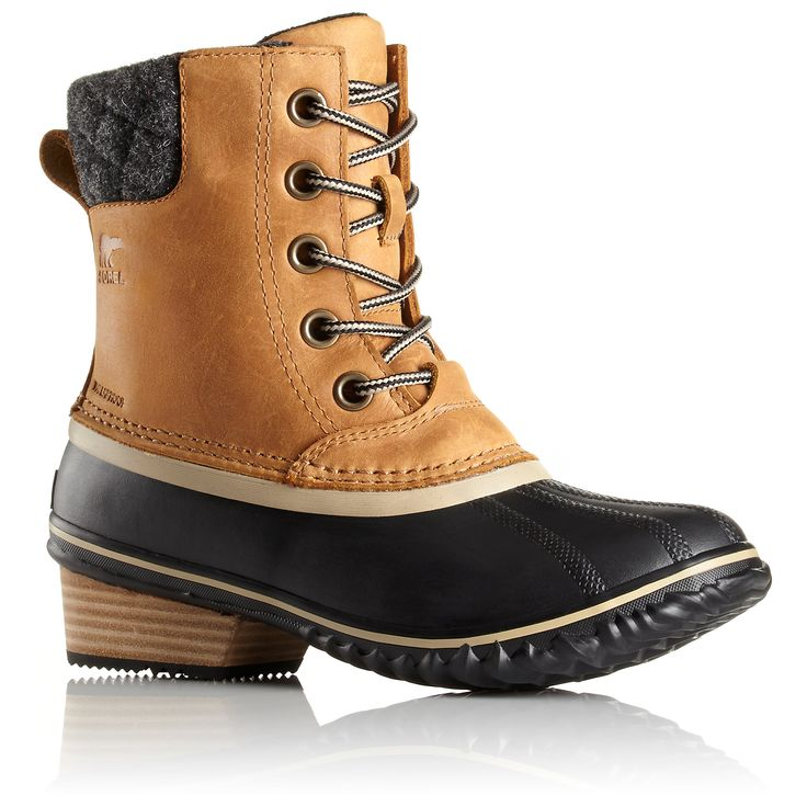 sorel boots - perfect rainy weather gear