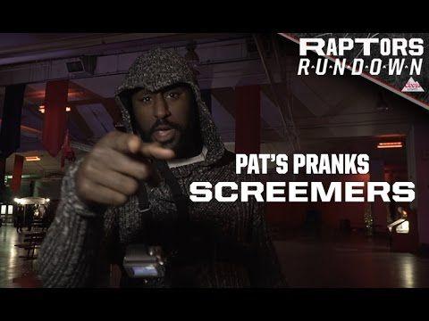 Pat's Pranks at Screemers - Raptors Rundown, presented by Coors Light