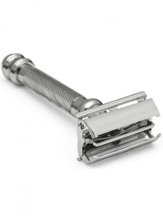 Shaving doesn't have to be a quick hack with an electric or cartridge razor. If you want to do your face a favour then transform your grooming regime into a ritual by using a traditional safety razor. These timeless tools not only add elegance to any bathroom but are extremely cost-effective using inexpensive, supremely sharp, replaceable single blades. This good old-fashioned method will not only reward you with the closest cut going but also a manly shave that'd make your grandpappy proud…