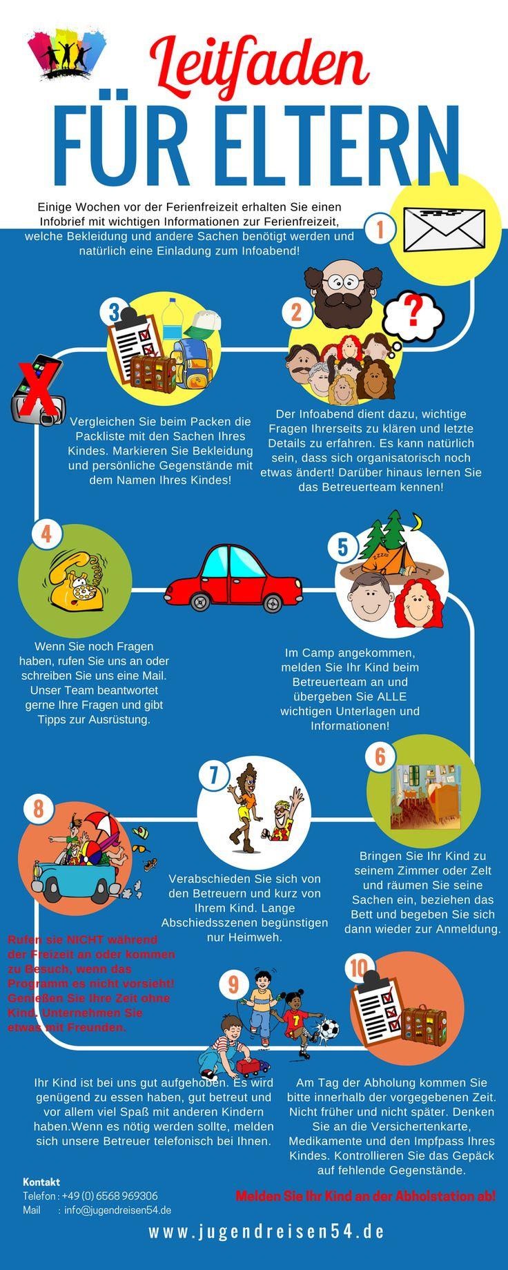 #KiLaFerien #Checkliste für #Eltern #Ferienfreizeit #Ferienlager #Feriencamp #Zeltlager #Urlaub