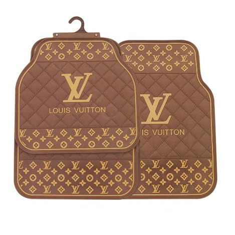 Buy Wholesale Luxury LV Louis Vuitton Universal Automotive Carpet Car Floor Mats Rubber 5pcs Sets - Gold from Chinese Wholesaler - ecbol.gd.cn