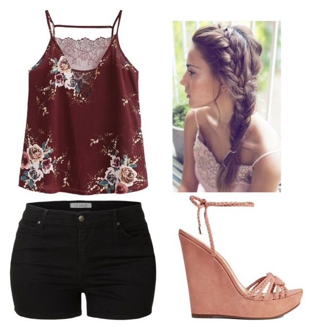 """""""For My Story"""" by tracy-a-howard on Polyvore featuring LE3NO and Schutz"""