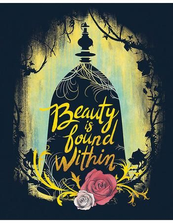 25% Off Beauty and the Beast Beauty Is Found Within Wall Art