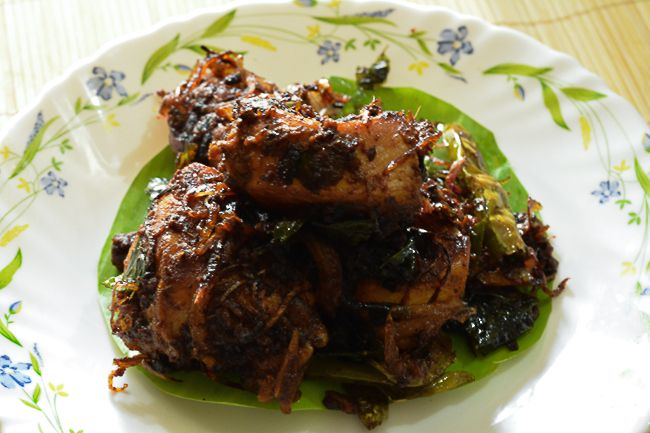 Andhra Spicy Chicken Fry (kodi vepudu recipe restaurant style)