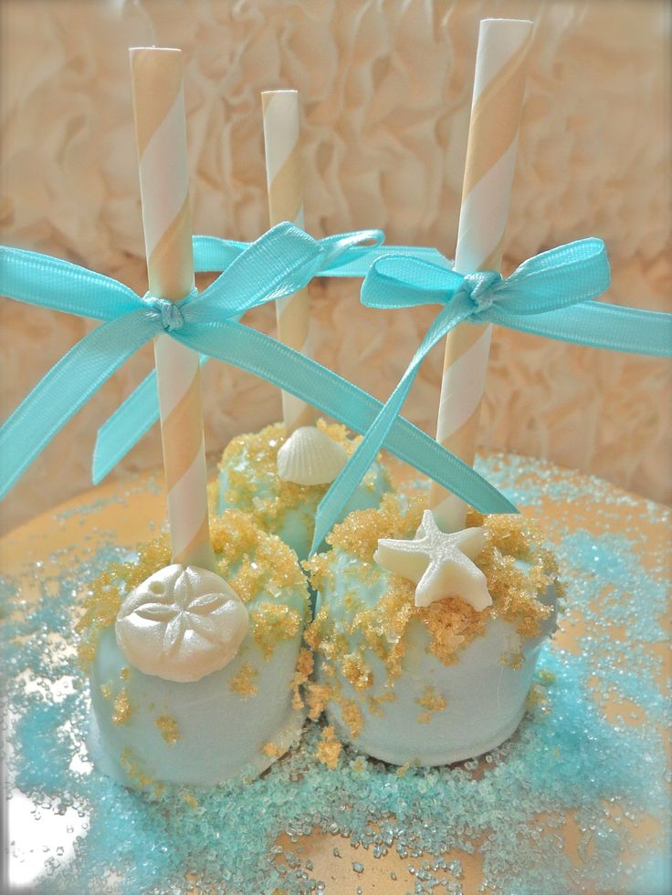 Edible Wedding Favors Beach Seashells Chocolate Dipped Marshmallows Frost The Cake. $21.00, via Etsy.