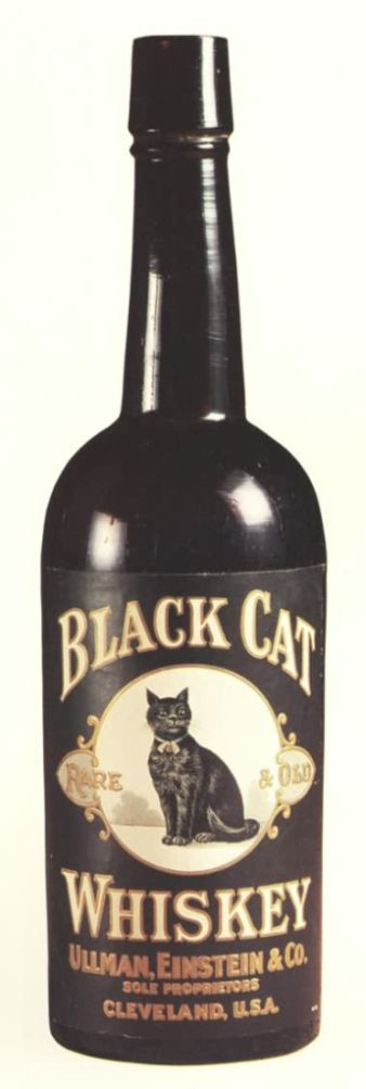 Black Cat Whiskey #vintage #blackcatsrule