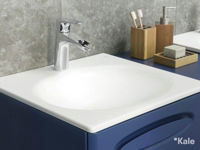 Anti bakteriyel ve kolay temizlenen Kaleguard yüzey koruması ile lavabolar artık daha pırıltılı... #KaleSmart #akıllı #estetik #smart #tasarım