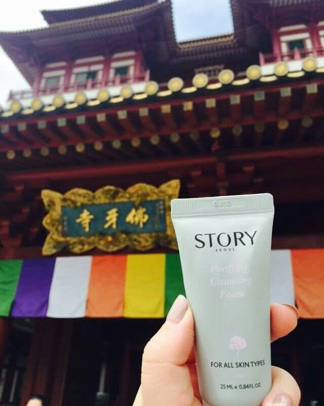 Story Seoul Skincare is exploring Singapore today.