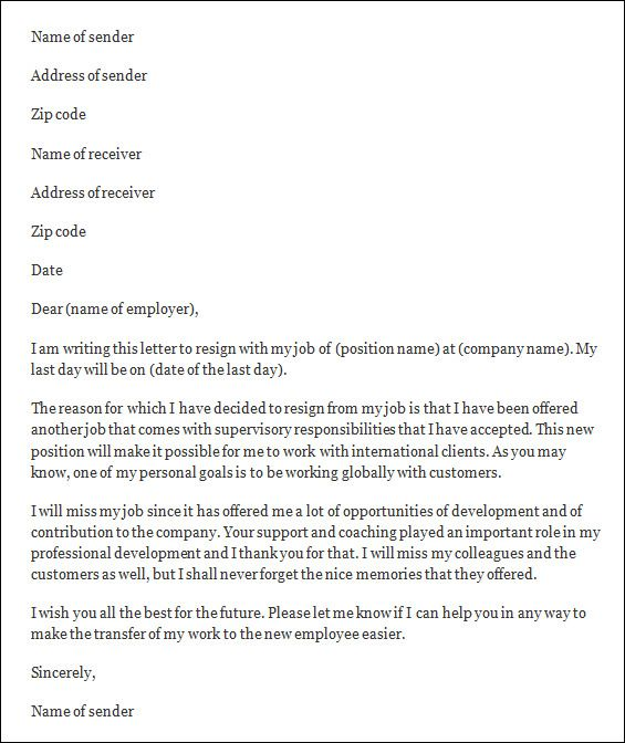Best 25+ Standard resignation letter ideas on Pinterest Teacher - resignation letter with reason
