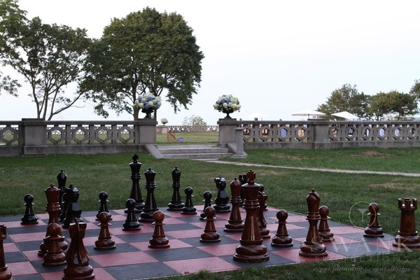 Gatsby Wedding - Life Size Chess Lawn Games for Guests