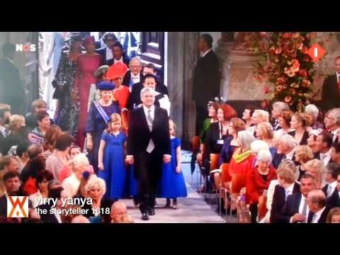 Video recap of the ceremony of the new King and Queen of The Kingdom of the Netherlands. Willem Alexander and Maxima. #amsterdam #holland