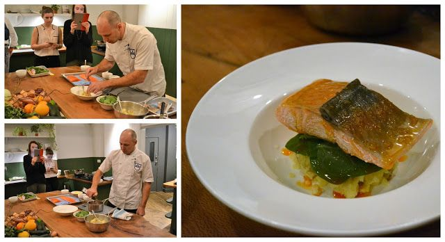 Norwegian Fjord Trout Cook School with Daniel Galmiche and Adam Gray | Delicious Cakes