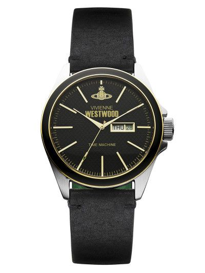 awesome Vivienne Westwood Men's Black Round Watch
