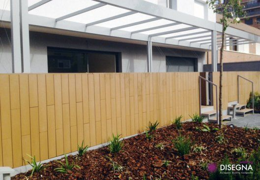 #DesignInspiration: The Disegna Yellow Lambo also makes for a great outdoor walling option.