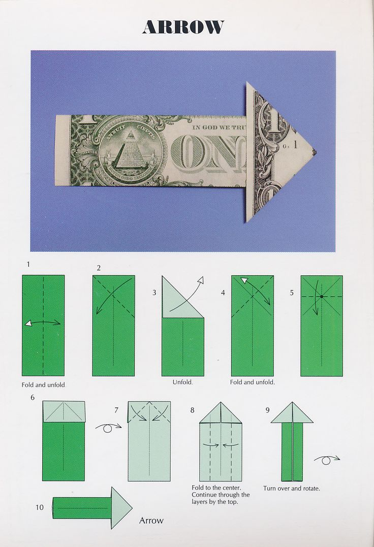 220 best origami money images on pinterest dollar origami cash easy dollar bill origami arrow postcard from barb in ocala florida jeuxipadfo Image collections