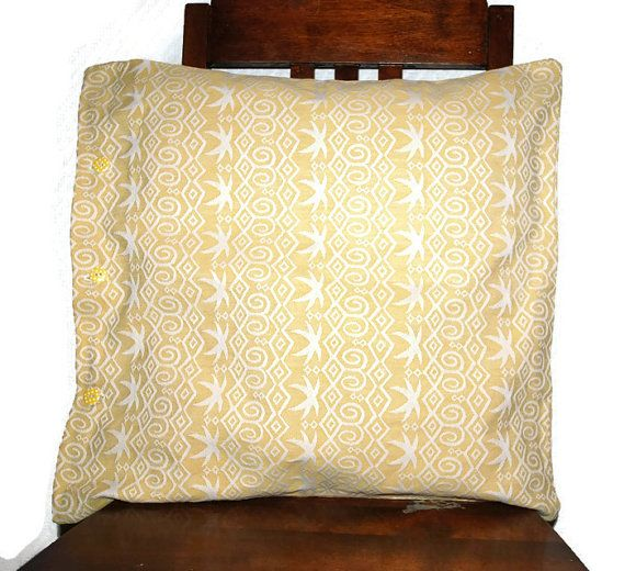 Pillow cover for decorative pillow, throw pillow, upcycled, pillowcase, accent pillowcase, couch pillow cover, cushion case