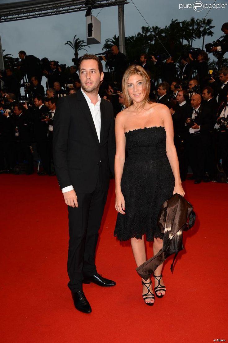 Amanda Sthers et son homme Thierry Weinberg à l'ouverture du 66e Festival de Cannes au Palais des Festivals...