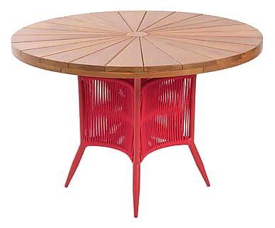 Mesa de Jantar Turim - Vermelha