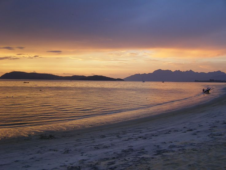 Sunset - Cengang Beach, Langkawi, Malaysia