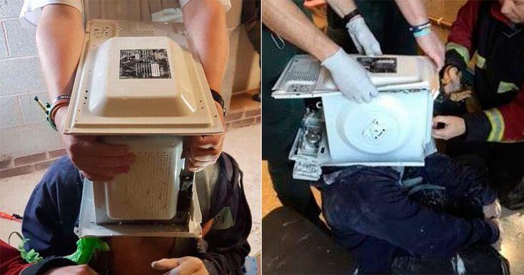 22-летний YouTube-пранкер решил снять розыгрыш для своего канала, поэтому он засунул в микроволновую печь голову.
