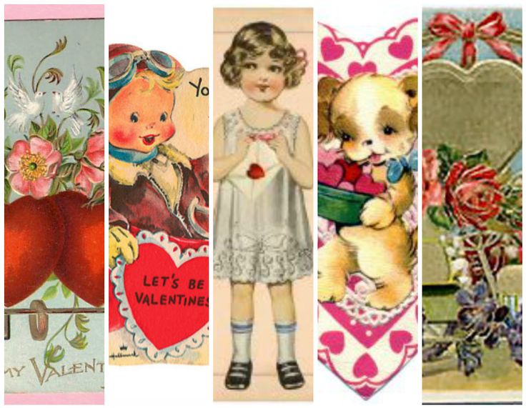 130 best Hearts and Valentines images – Vintage Valentine Cards to Print