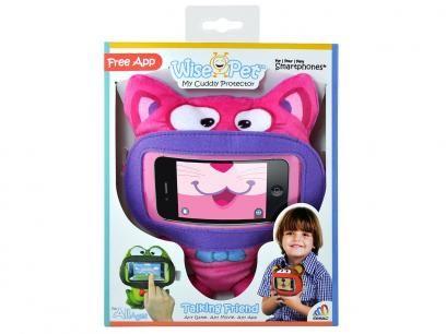 Capa Protetora Mini Kitty para Smartphone - Wise Pet com as melhores condições você encontra no Magazine Fbih. Confira!