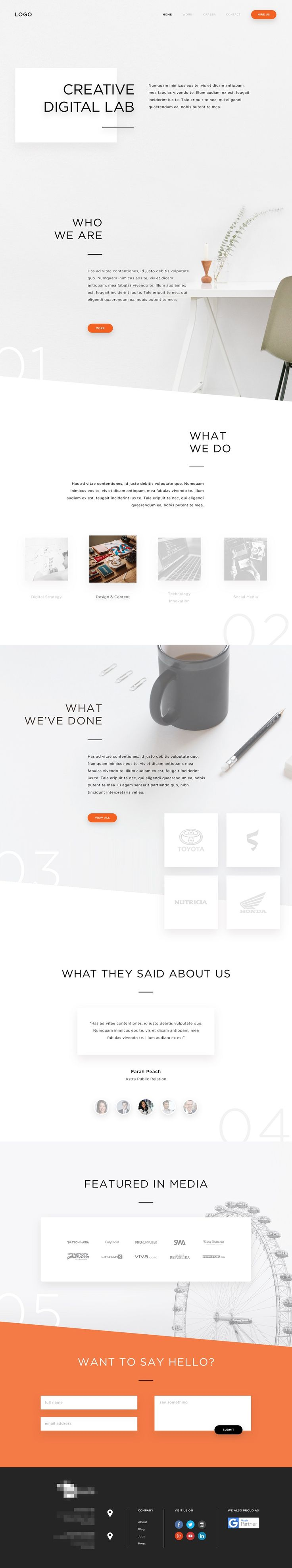 Creative Web Themes for 2017