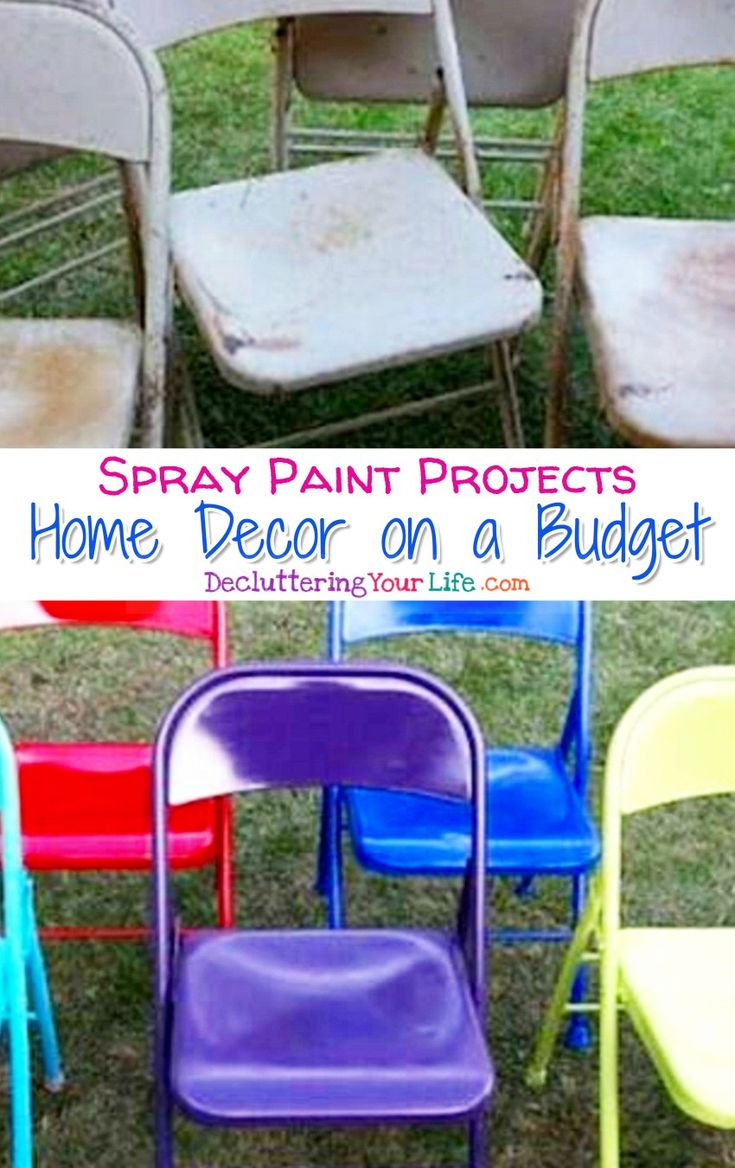 best 25 spray paint projects ideas on pinterest color. Black Bedroom Furniture Sets. Home Design Ideas