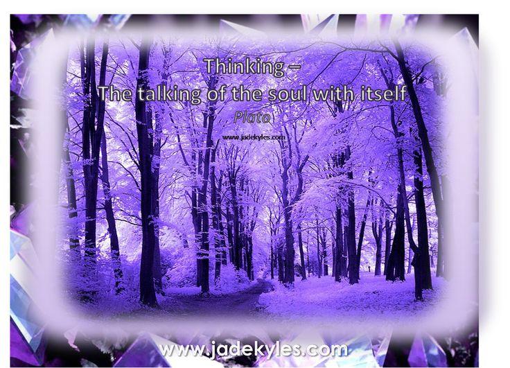 Thinking...  *´¨)            .•´¸.•*´¨) ¸.•*¨) Blessings                            (¸.•´ (¸.•` ¤ Jade xxx