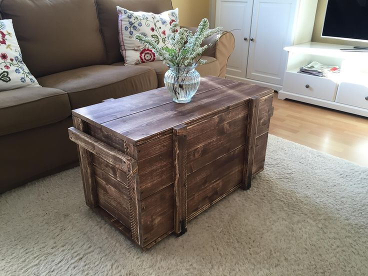 53 best couchtisch rustikal images on Pinterest | Wooden crates ...
