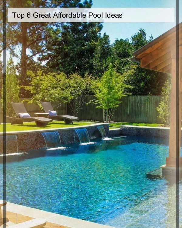 Inexpensive Pool Landscaping For Your Home Poolside Ideas in 2018