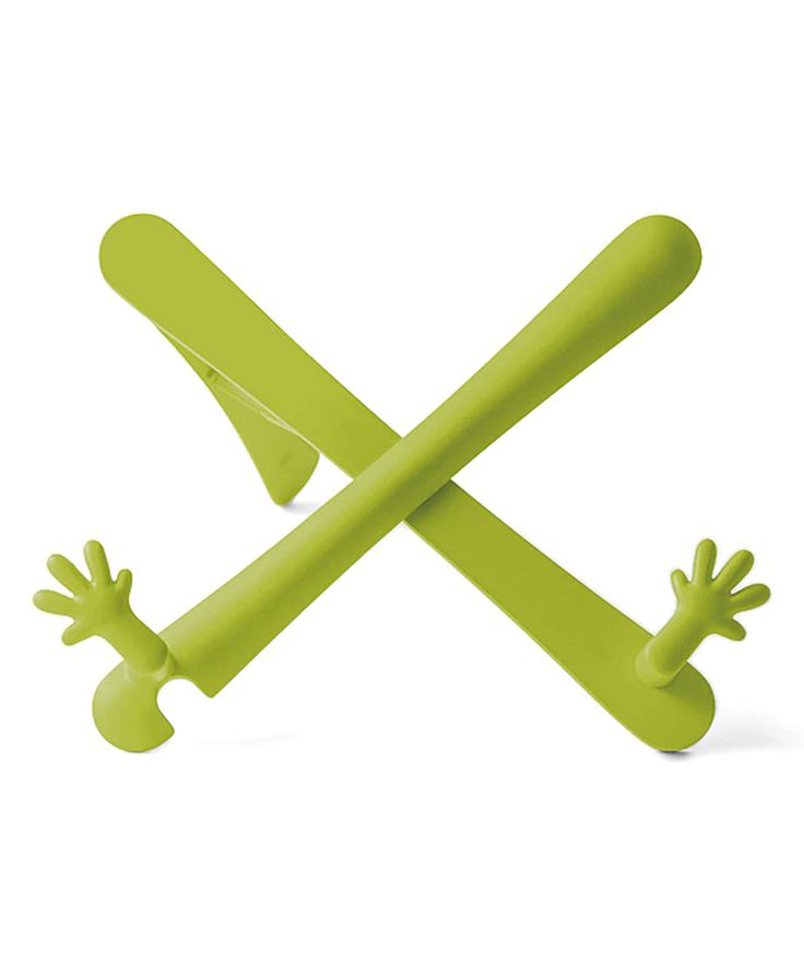Take a look at this Lime Hands Book Stand today!