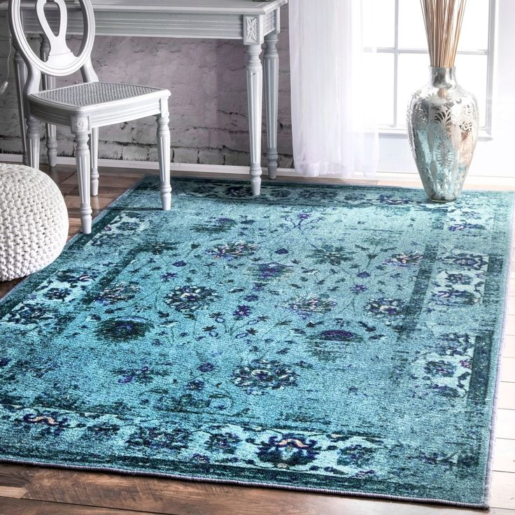 Vintage Effect Rug: 1000+ Ideas About Turquoise Rug On Pinterest