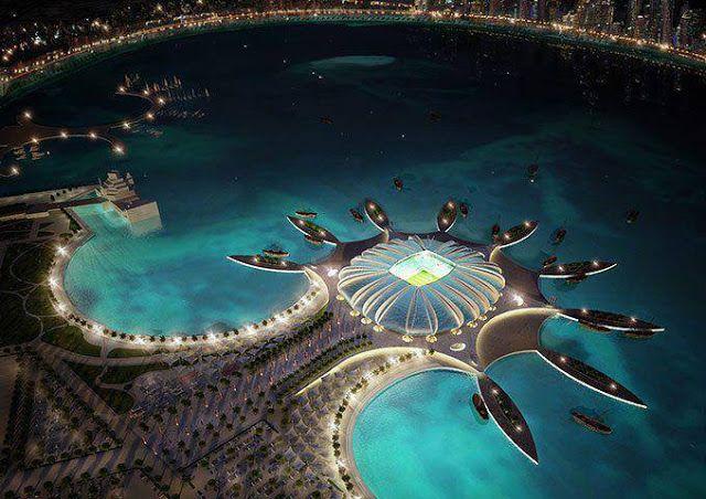 Fifa stadium in Qatar