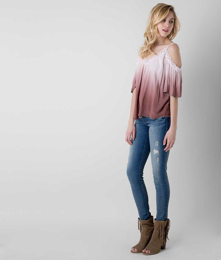 Gimmicks by BKE Dip Dye Top - Women's Shirts/Tops   Buckle
