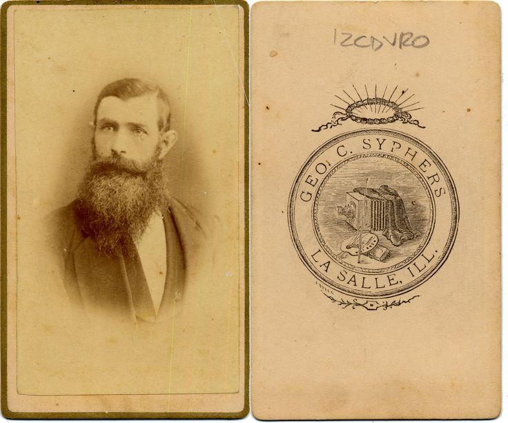 Beards of the 19th Century: CdV 41