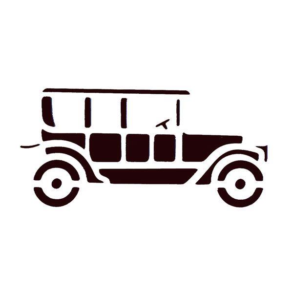 Stencil - Classic Car
