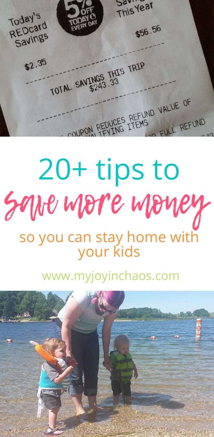 12 best you can stay home with your kids images on pinterest 20 tips to help you save more money so you can be at home with your fandeluxe Gallery