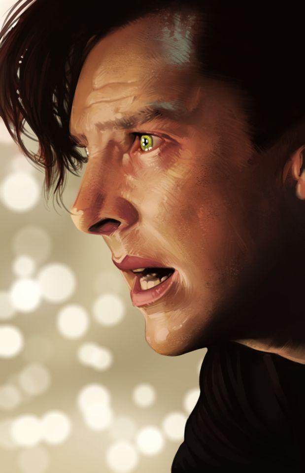 Khan Star Trek--woefully miscast as Khan in my opinion but still gorgeous