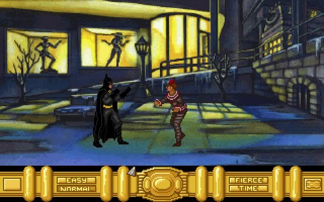 Batman Returns Is An Old Point Click Adventure Game Released In 1992 By Konami And Developed By Spirit Of Discovery Batman Returns Retro Gaming Batman