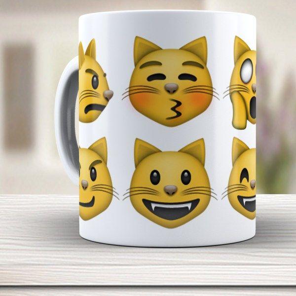 Caneca Emojicon 949 Gatos
