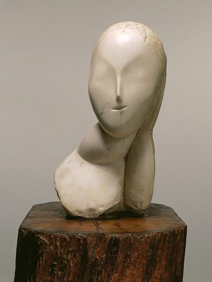 Collection Online | Constantin Brancusi. Muse (La Muse). 1912 - Guggenheim Museum