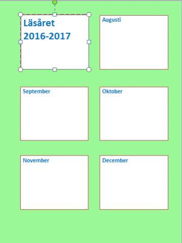 """I går var det dags för oss att fylla i vilken planeringskalender vi ville beställa inför nästa läsår på skolan. Så då var det bara att sätta sig ner och fundera ut vilken färg som nästa års """"…"""